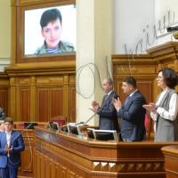 Справжня героїня, яка за всі довгі години, дні й місяці перебування у полоні є незламною, є свідченням того, що Україна переможе