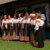 В усадьбе Ивана Миколайчука звучали песни