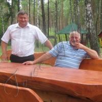 Казацкий стол в... волынском лесу