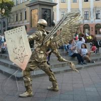 Напали на ангела Небесної Сотні
