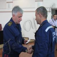 Статус участников боевых действий получили спасатели