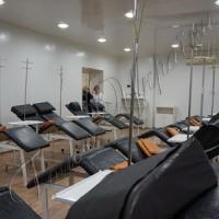 Запрацювала прифронтова  станція переливання крові