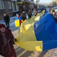 На честь Степана Бандери відбулися мітинги