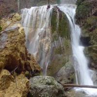 У Криму обвалився водоспад Срібні струмені