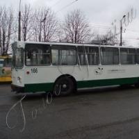 Из старого троллейбуса сделали новый