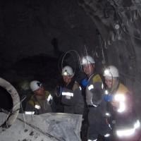 По «чорне золото» — через тунель