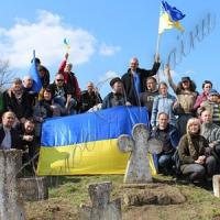 Толока на козацькому кладовищі