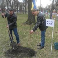 У Надії Савченко з'явилася «іменна» яблуня