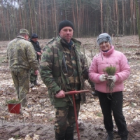 Посадив дерево — життя пройшло не даремно