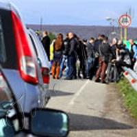 Автовласники заблокували КПП «Ужгород»