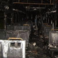 Охоплені вогнем вагони  машиніст хотів дотягнути до станції