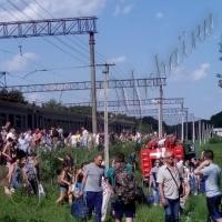 З потяга евакуювали понад тисячу пасажирів