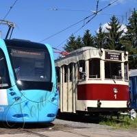У нового трамваю більше зручностей для пасажирів!..