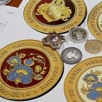 Петриківський розпис прикрасить нагороду