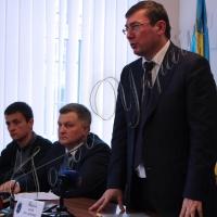 Ю.Луценко: <<Я хочу, щоб Івано-Франківська область відчула, що система змінюється>>