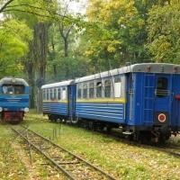 Перший тепловоз на відновленій дитячій залізниці поведуть… Іван Груник і Геннадій Москаль