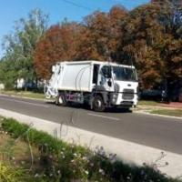 Для громади придбали сучасний сміттєвоз