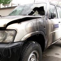 Підпалили авто місії ОБСЄ