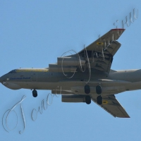 У Мелітополі Іл-76 вперше з 1990-х років виконав складне навчальне завдання