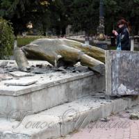 У Криму впав Ленін