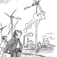 Крапля в морі, або Чому Шотландія забезпечена альтернативною електроенергією  більш як на 100 відсотків, а Запоріжжя — лише на 1,9?..