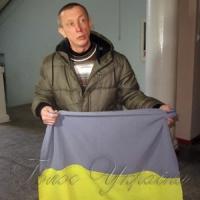 За врятований прапор «кіборгу» дали три роки тюрми