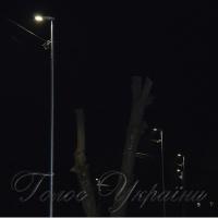 На вулицях засяяло <<розумне зовнішнє освітлення>>