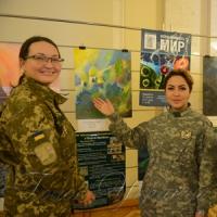 Відкрилась благодійна виставка «Воїни малюють мир»