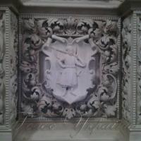 Картуші з козацькими гербами прикрасили церкву