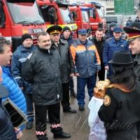 Пожарные машины прибыли из Норвегии