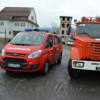 Рятувальники гірського райцентру Воловець отримали гуманітарну допомогу від колег із німецького міста-побратима Бадендорф