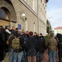 Чернігівську ОДА вранці заблокували
