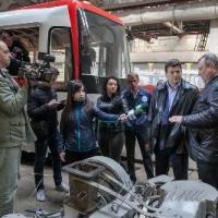 Перший трамвай запорізького виробництва вийде на вулиці міста в травні