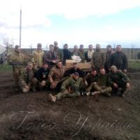 Верхньодніпровські волонтери з пасками та Божим словом - на <<передку>>