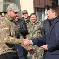 Відзначили День народження полку <<Дніпро-1>>
