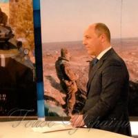 Голова Верховної Ради Андрій Парубій дав інтерв'ю місцевому телеканалу