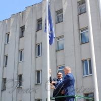 Прапор піднімав Генеральний консул Польщі