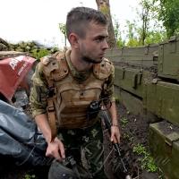 Офіцер «Калина» на позиціях «Орла»