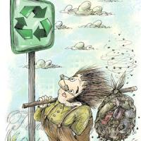 За рік — по тонні сміття на кожного  Час зупинити таке небезпечне «виробництво»