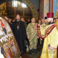 Освятили ікону Пресвятої Богородиці «воїнської»
