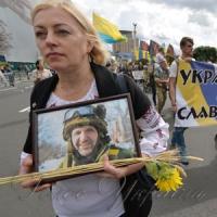 У центрі Києва після військового параду відбулась акція «Хода нескорених»
