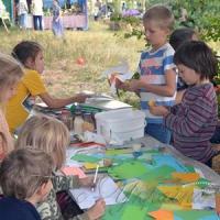 У селі Михайлівка Канівського району завершився всеукраїнський родинний екологічний фестиваль «ЗемлеТворення»