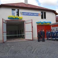 У Великій Доброні — оновлена будівля пожежників