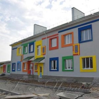 На Рівненщині будують яскравий дитсадок