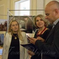 Під час відкриття у Верховній Раді України фотоекспозиції до 70-ї річниці операції «Вісла» «По обидва боки Бугу»