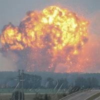 Перед пожежею на складах боєприпасів жителі бачили в небі безпілотники