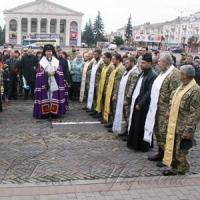 Капеланів вшанували на Красній площі