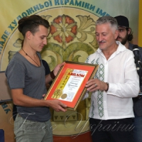 Вінець нагород бієнале художньої кераміки імені Василя Кричевського