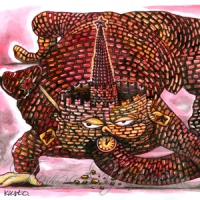 Змія, що пожирає себе з хвоста