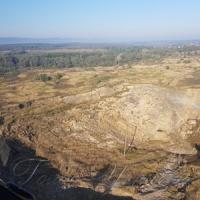 Над рудником просіла земля